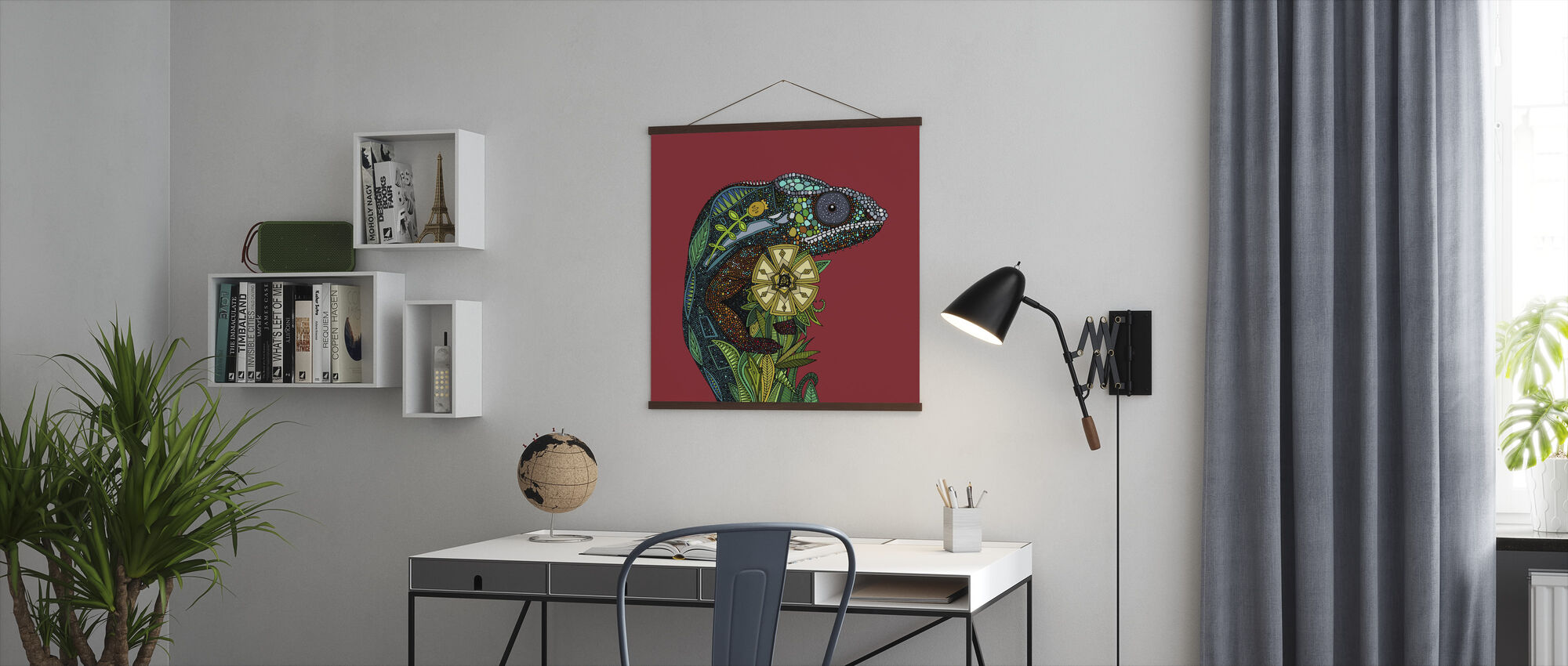 Chameleon - Poster - Office