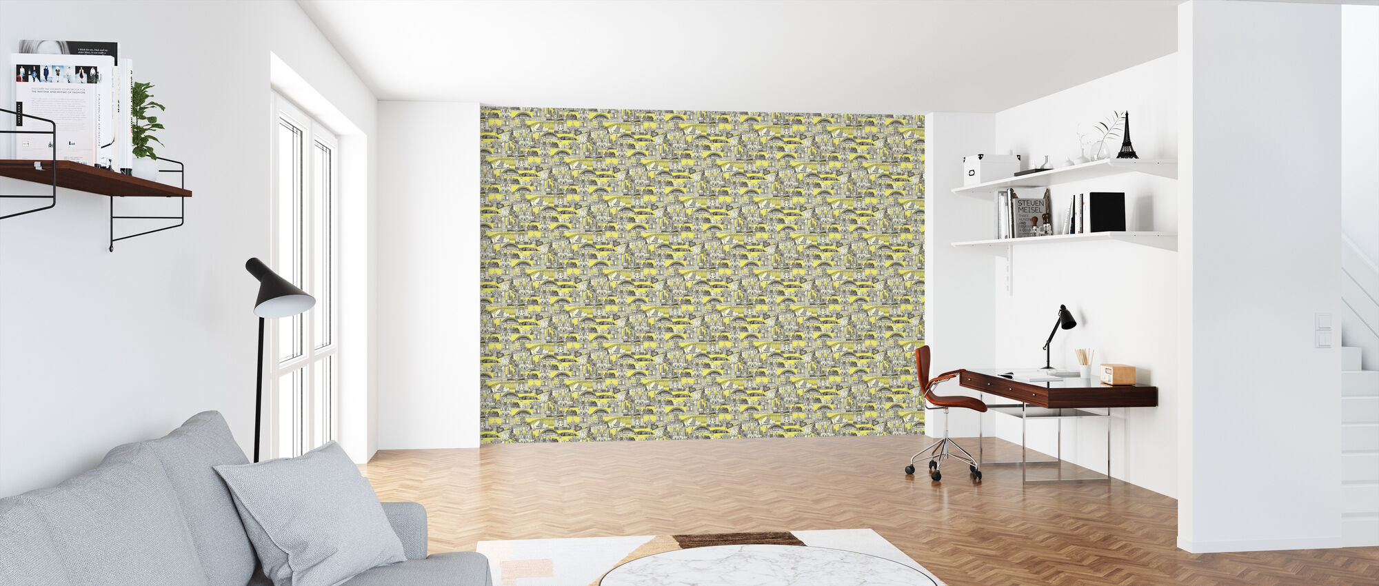 Australia Toile de Jouy - Wallpaper - Office