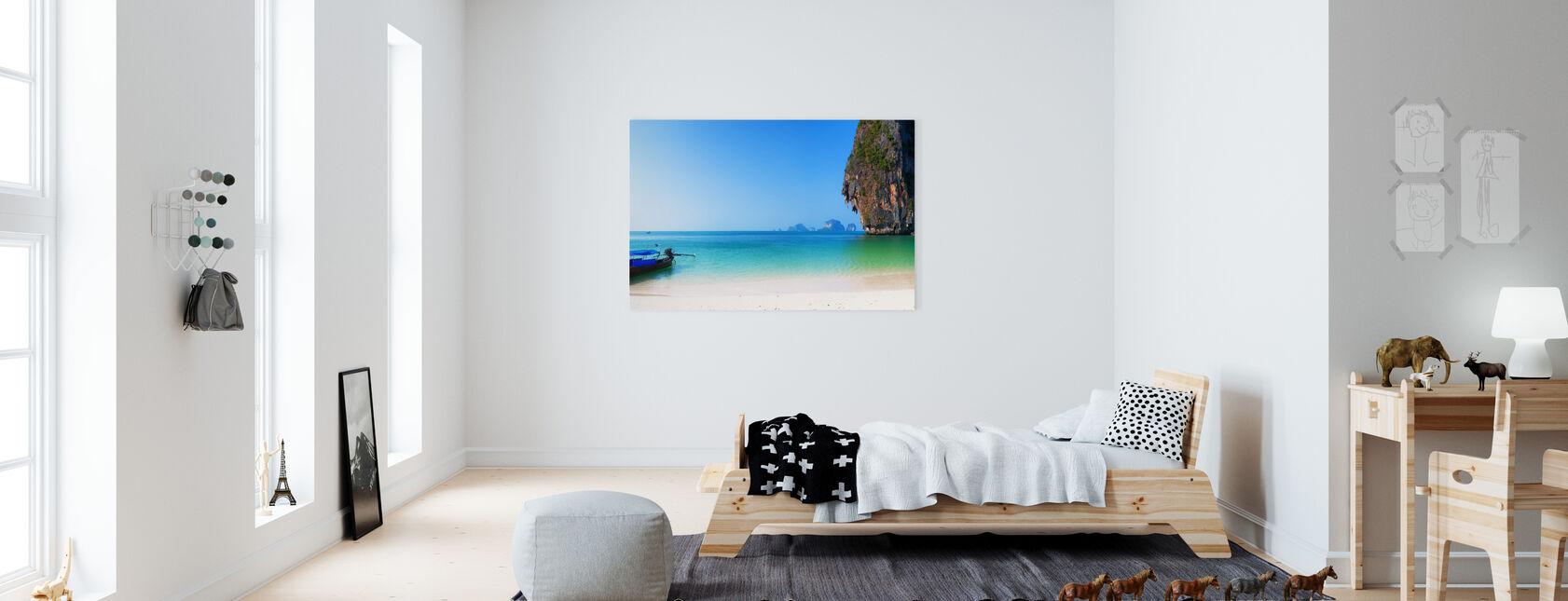 Thailand Island Beach - Canvas print - Kids Room