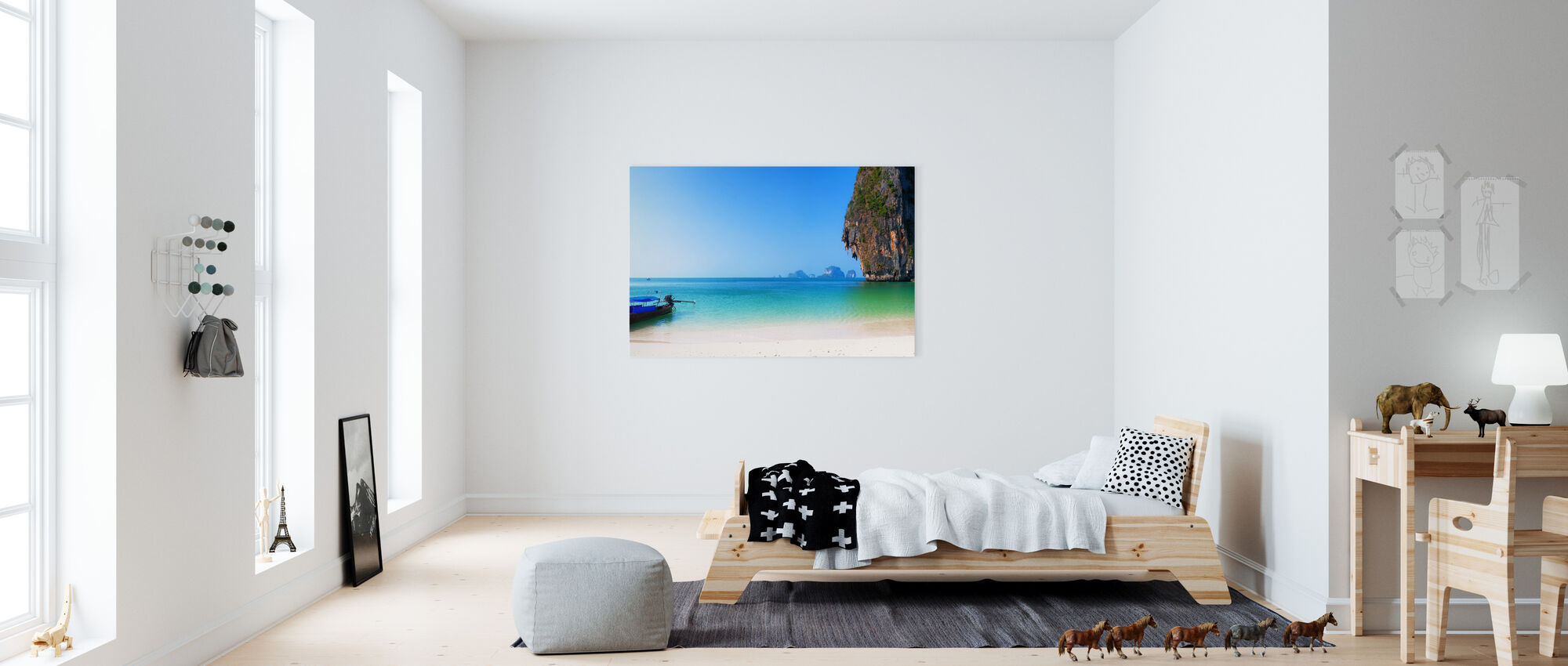 Thailand Island Beach - Canvas print - Kids Room
