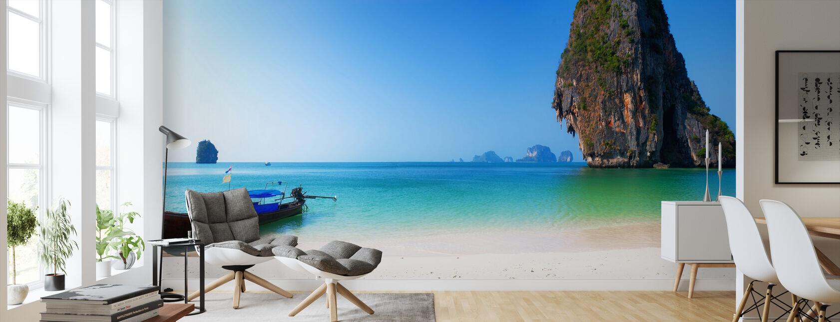 Thailand Island Beach - Wallpaper - Living Room