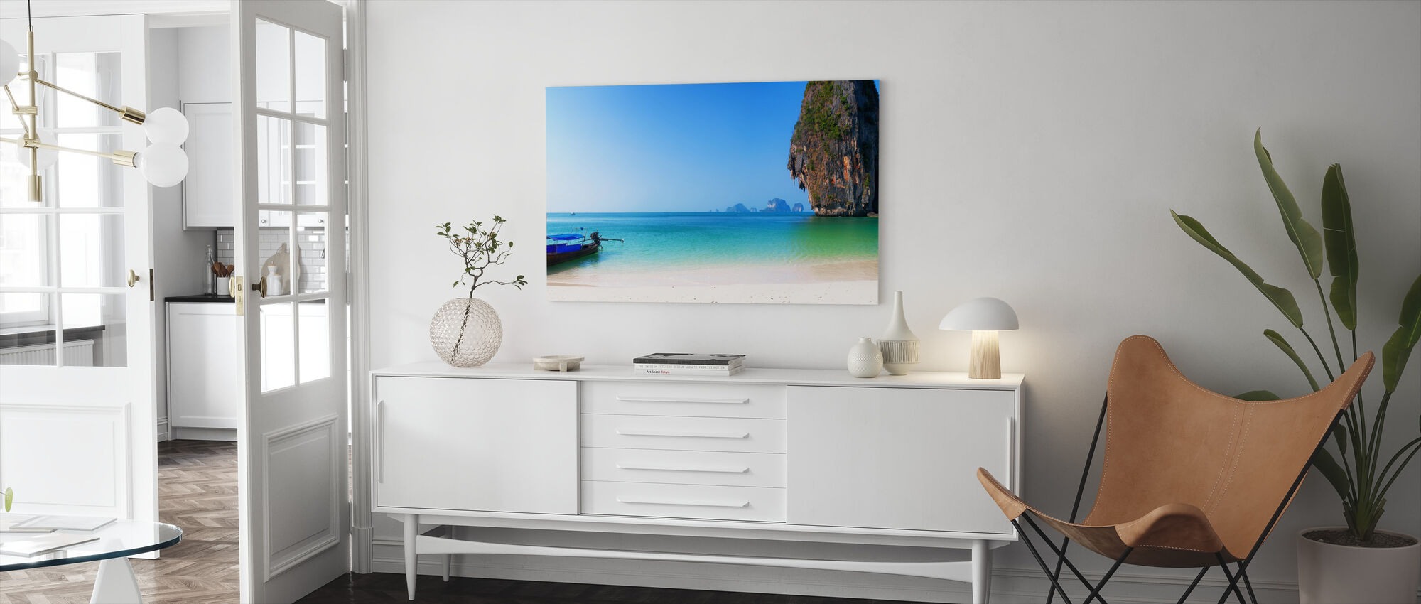 Thailand Island Beach - Canvas print - Living Room