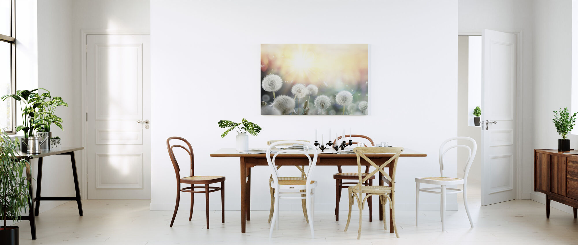 Dandelion Dreams - Canvas print - Kitchen