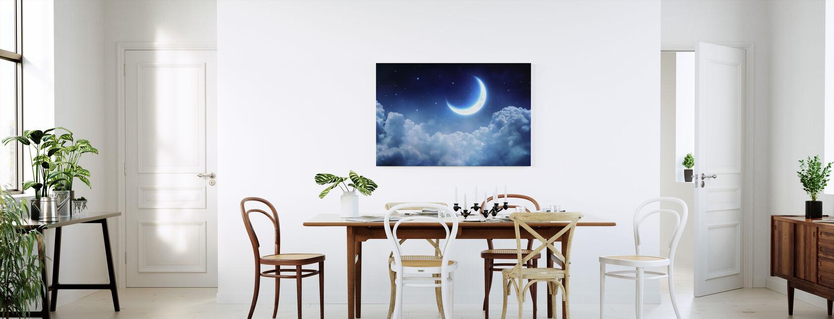 Dröm View Månen - Canvastavla - Kök
