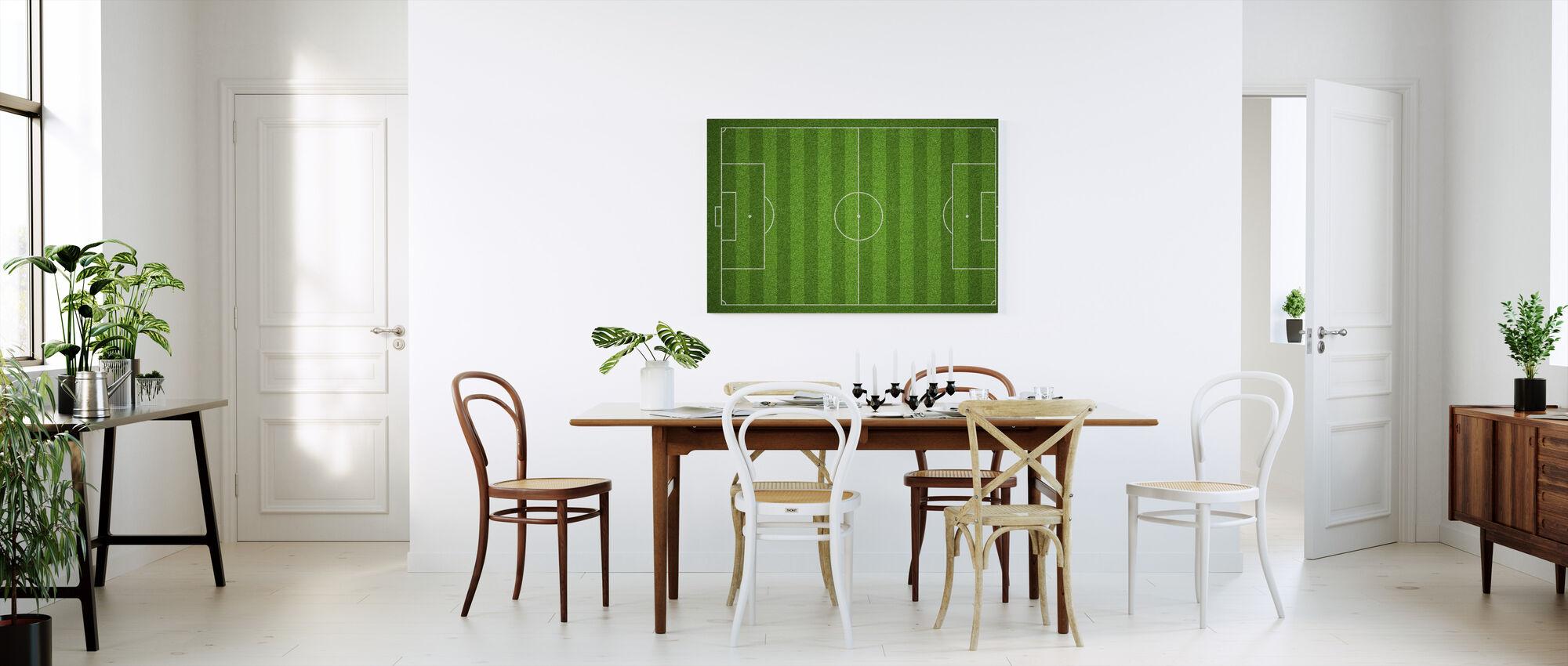 Campo de fútbol - Lienzo - Cocina
