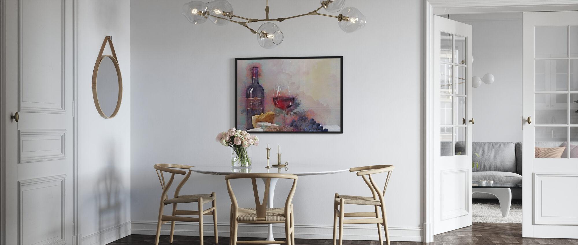 En spesiell anledning - Innrammet bilde - Kjøkken