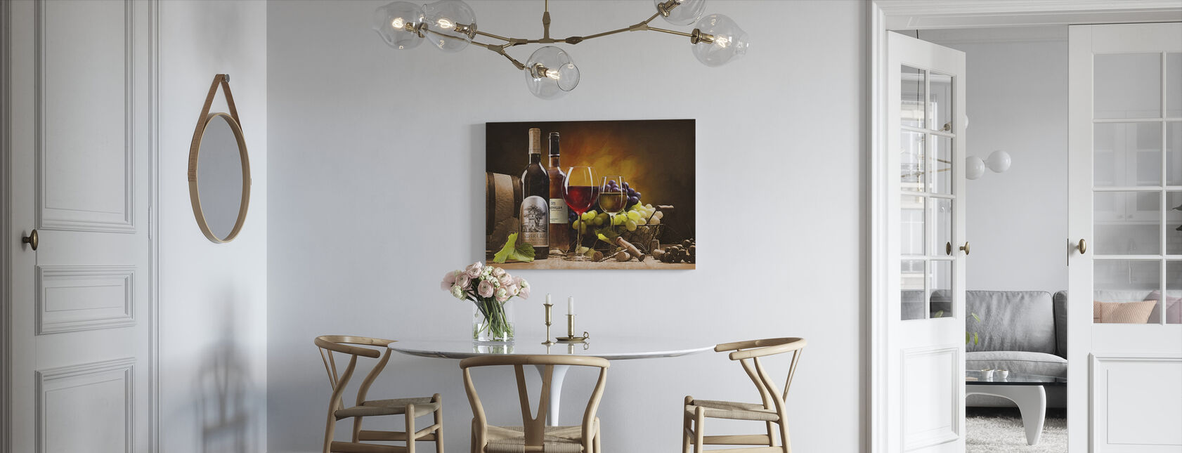 A Taste of Napa Valley - Canvas print - Kitchen