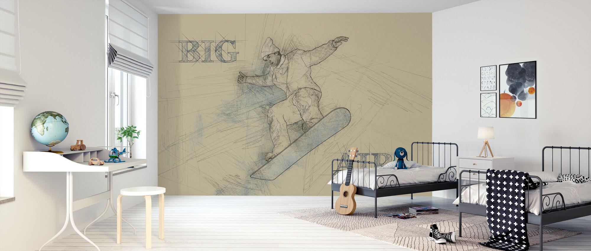 Big Air - Wallpaper - Kids Room