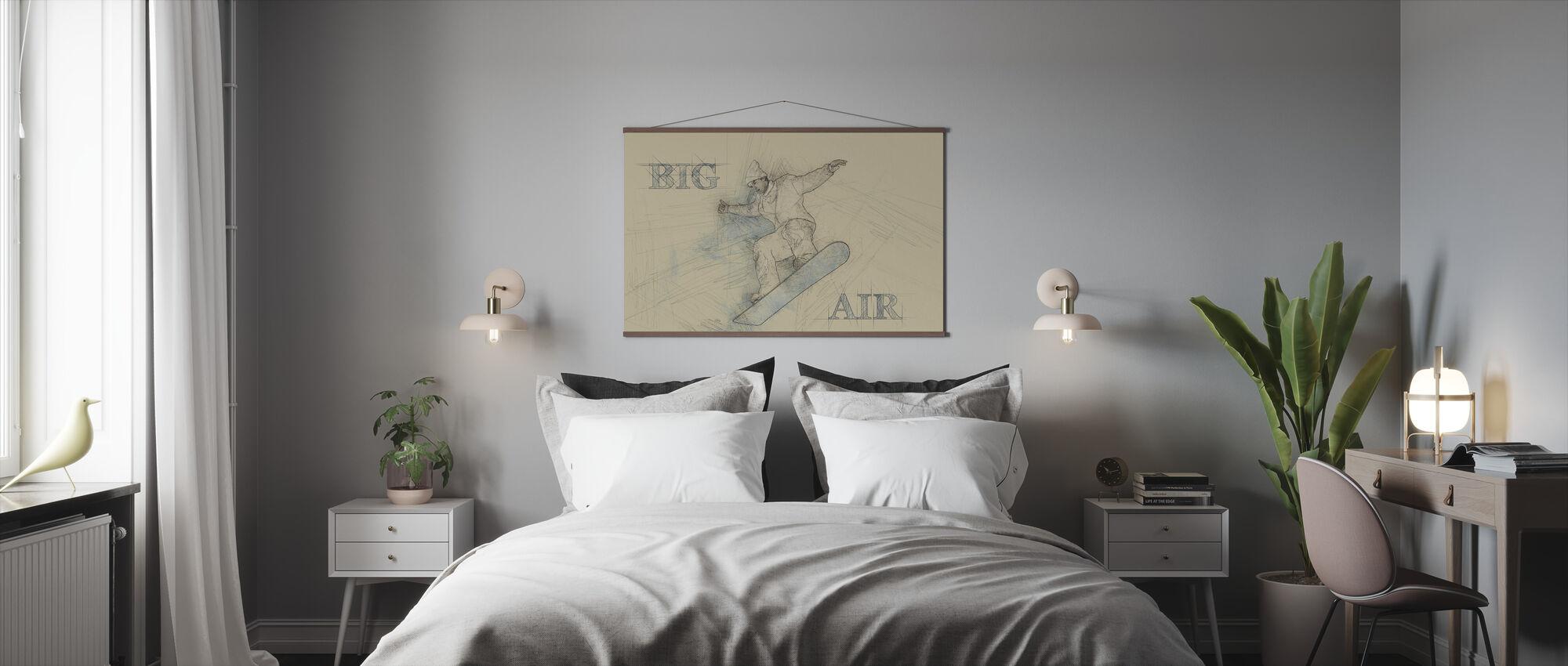 Iso ilma - Juliste - Makuuhuone