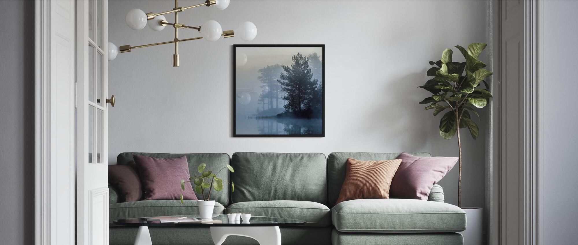 One Early Misty Morning - Framed print - Living Room