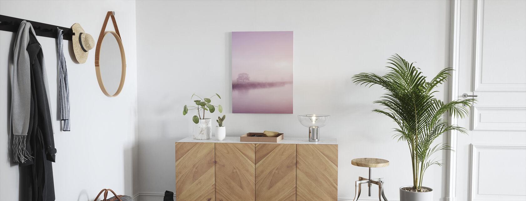 Rose Mist over River Boyne - Canvas print - Hallway