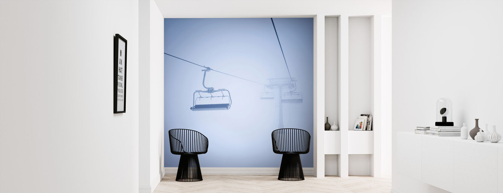 Ski Lifts - Wallpaper - Hallway