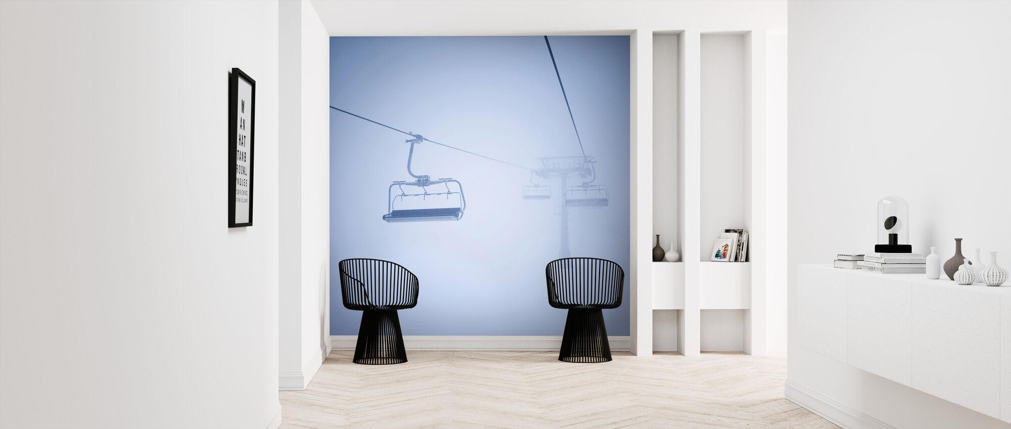 Ski Lifts - Wallpaper - Hallway