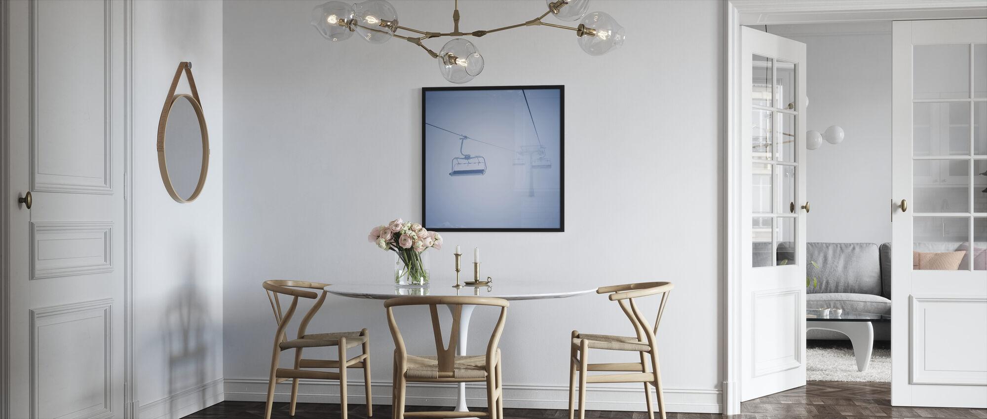 Ski Lifts - Framed print - Kitchen