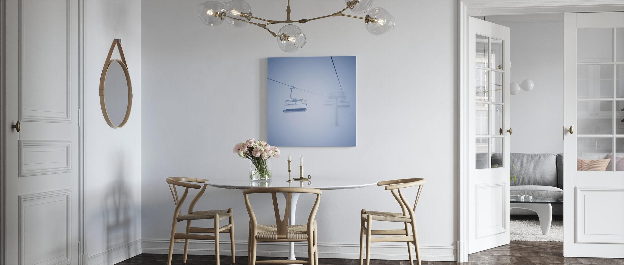 Ski Lifts - Canvas print - Kitchen