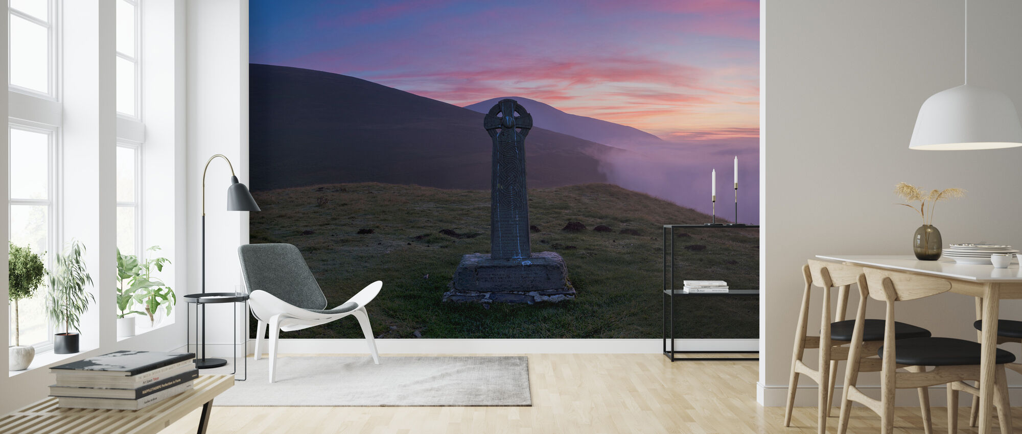 Skiddaw Shepherds Monument - Wallpaper - Living Room