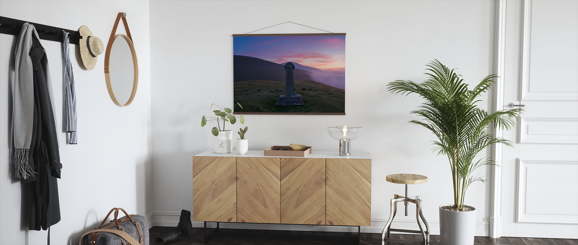 Skiddaw Shepherds Monument - Poster - Hall