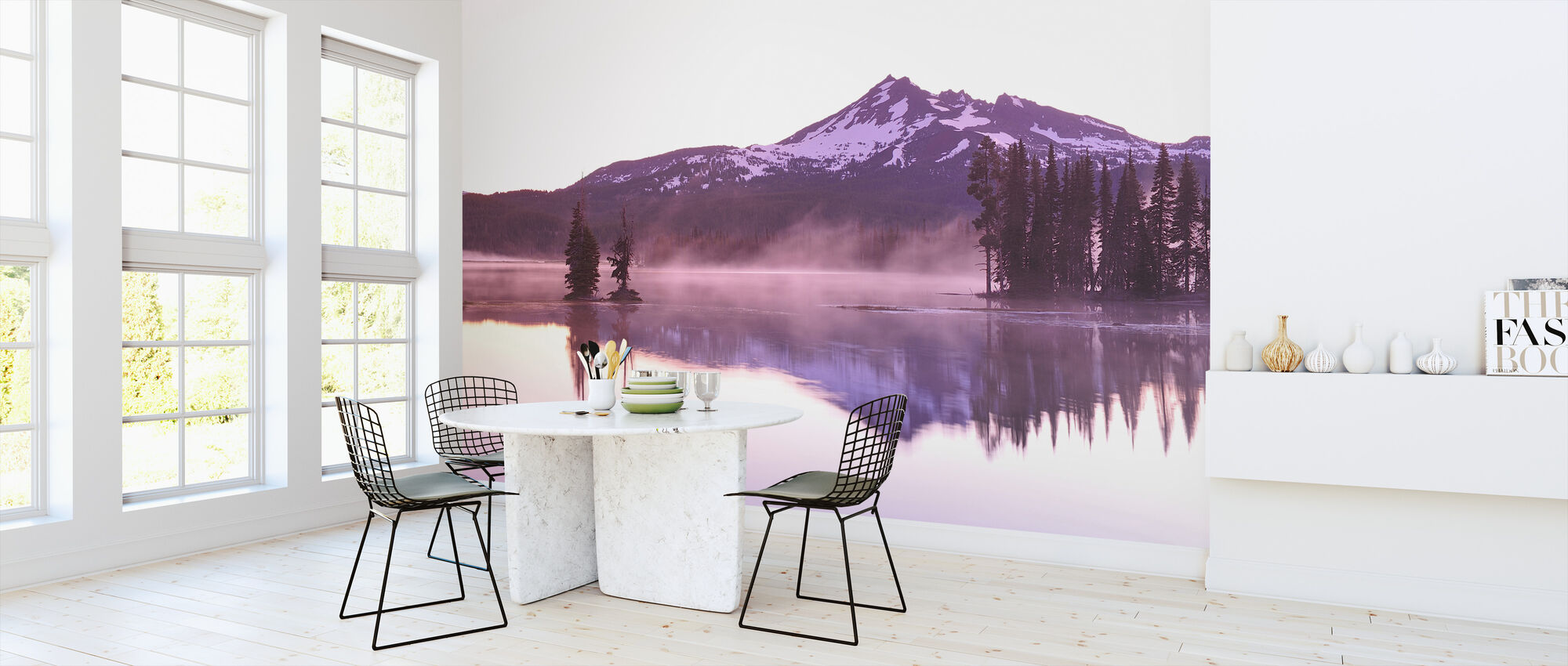 Sparks Lake - Wallpaper - Kitchen