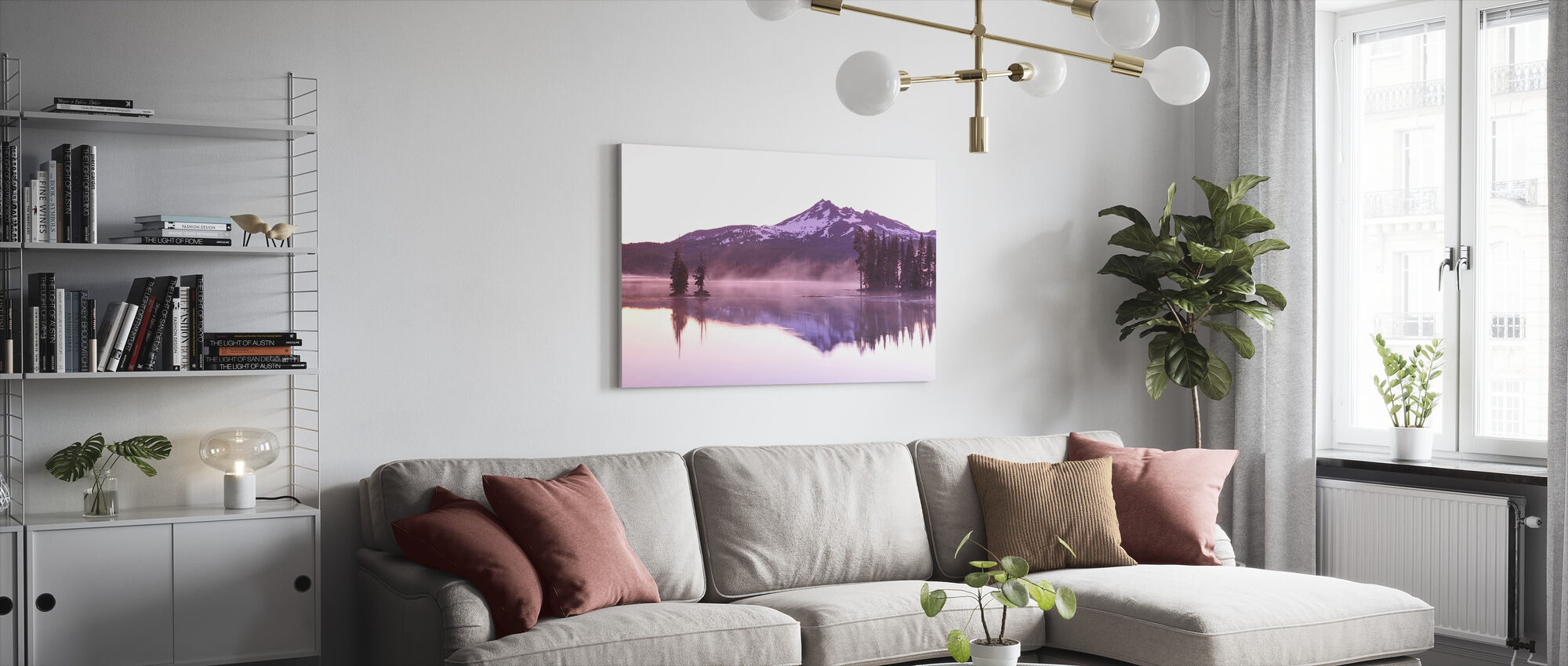 Sparks Lake - Canvas print - Living Room