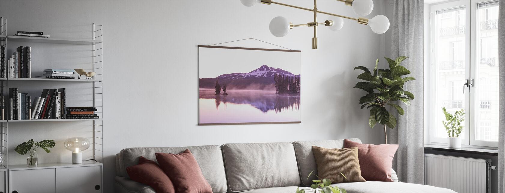 Sparks Lake - Poster - Living Room