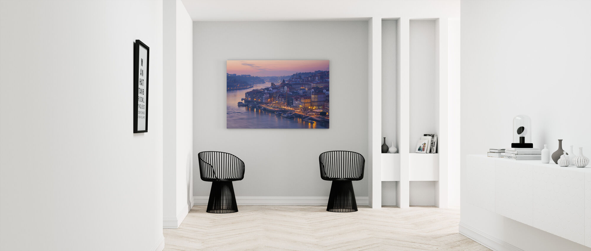 Sunset Porto City - Canvastaulu - Aula
