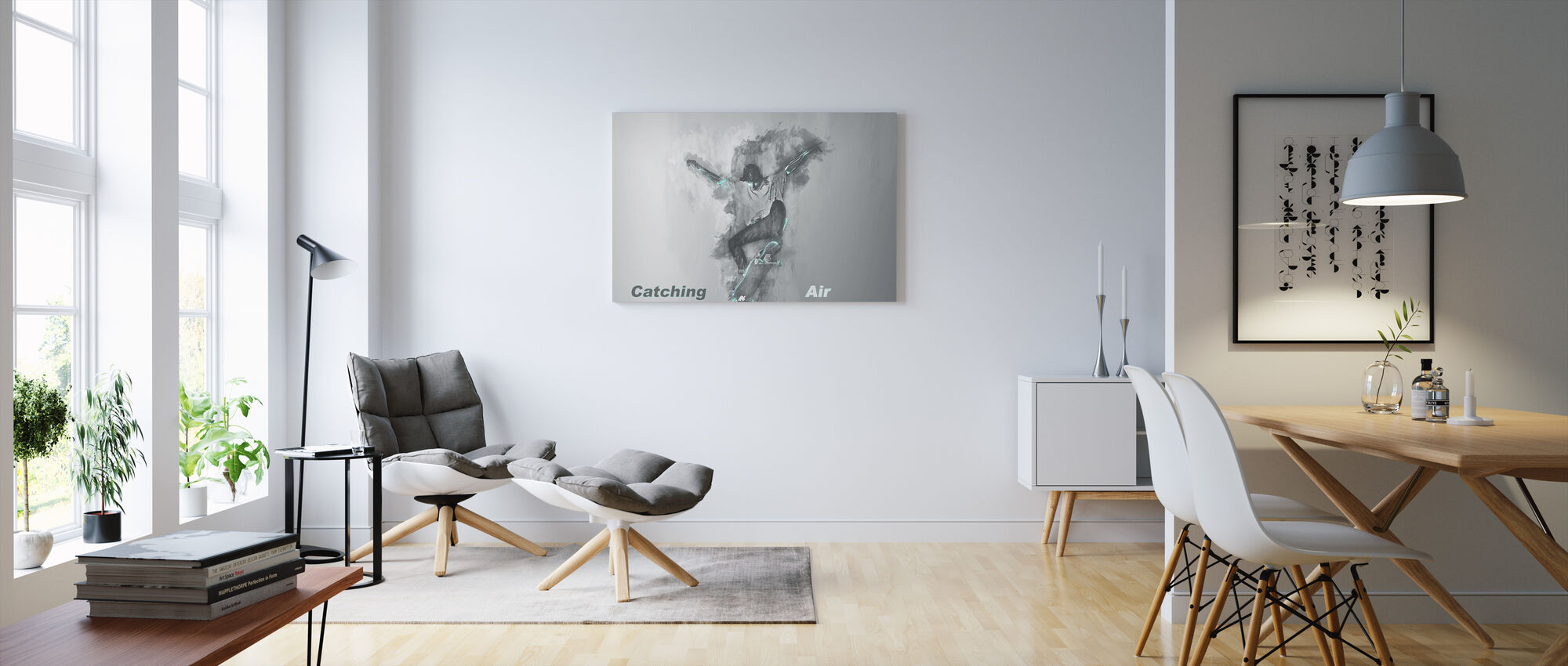 Catching Air - Canvas print - Living Room