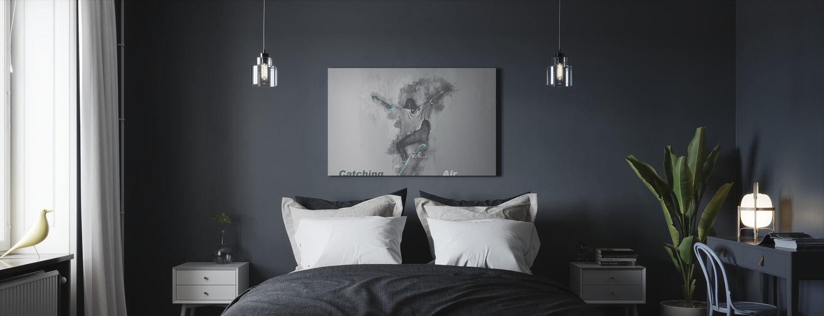 Attraper l'air - Impression sur toile - Chambre