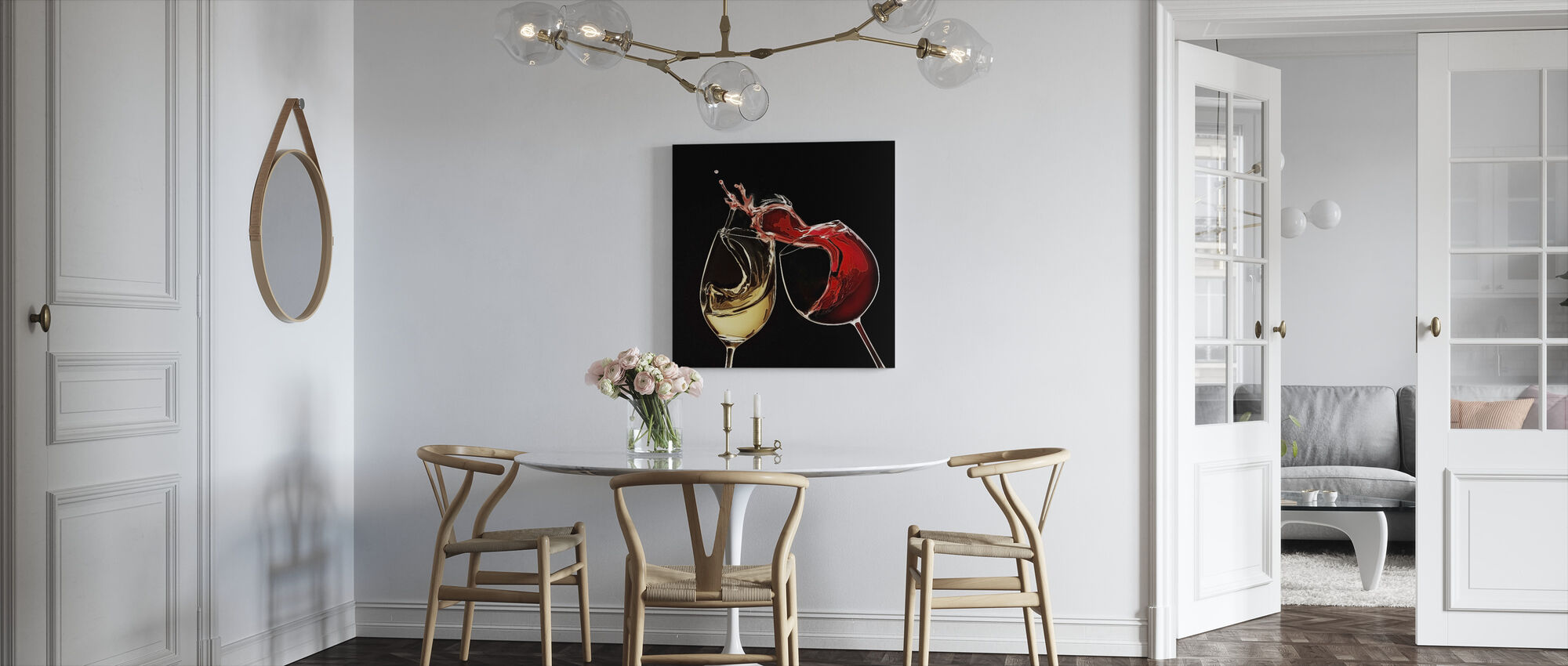 Proost - Canvas print - Keuken