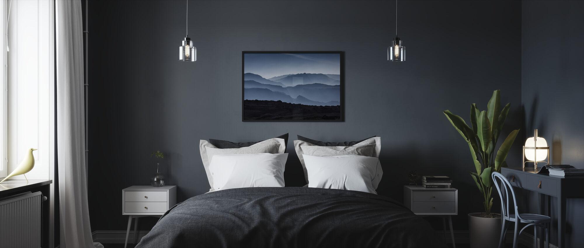 Icelandic Mountains - Framed print - Bedroom