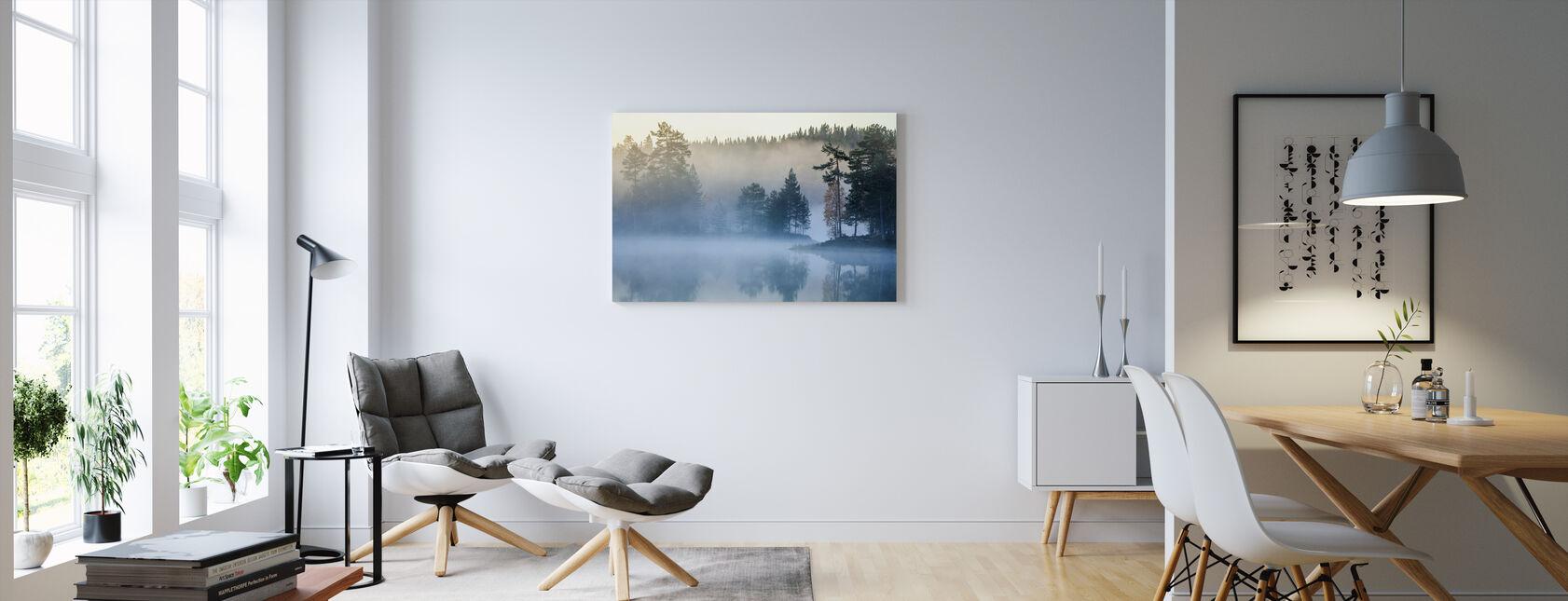 Norjan usva - Canvastaulu - Olohuone