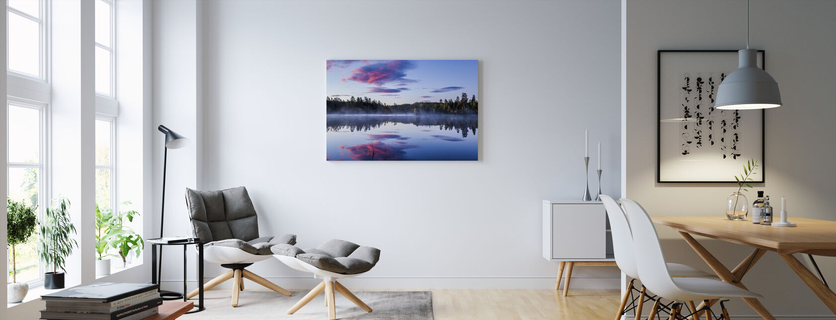 Norsk Morning - Lerretsbilde - Stue