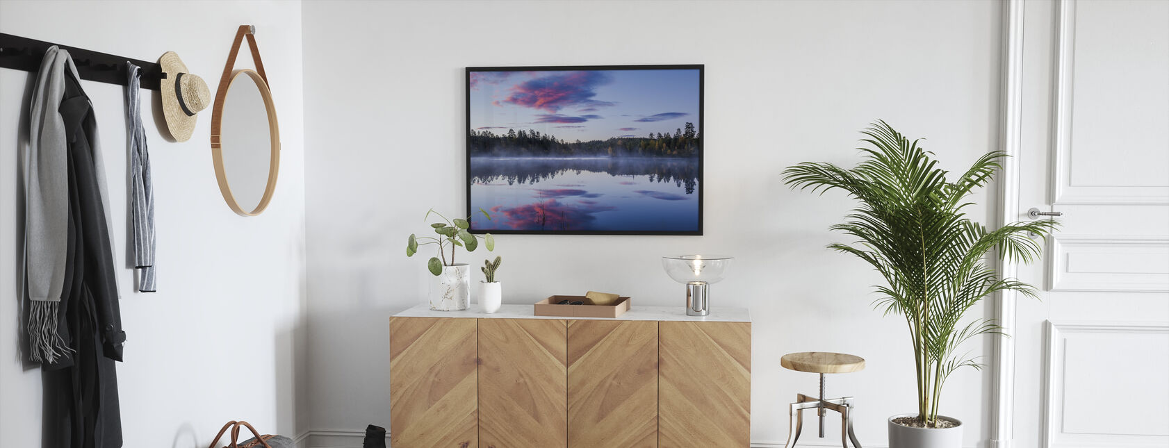 Norwegischer Morgen - Gerahmtes bild - Flur