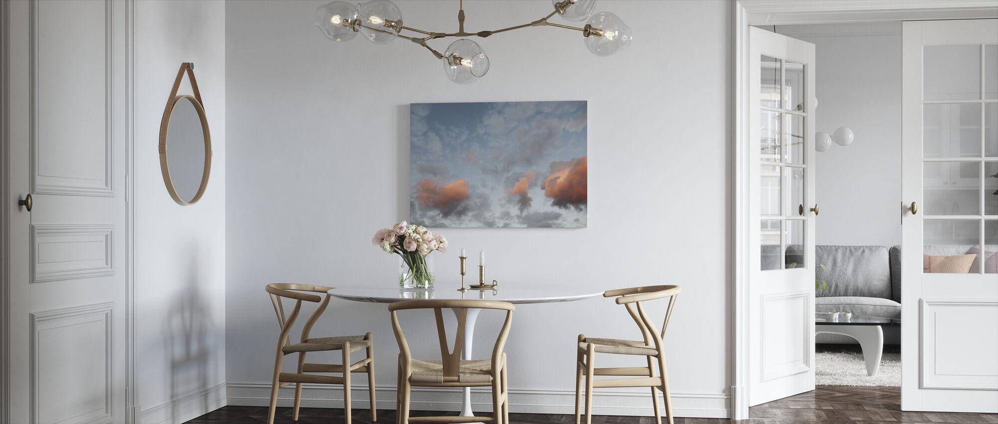 Moln och himmel - Canvastavla - Kök