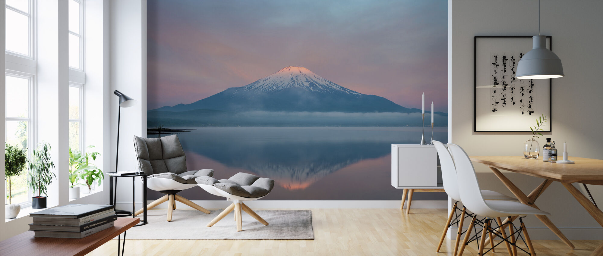 Color of Sunrise - Wallpaper - Living Room