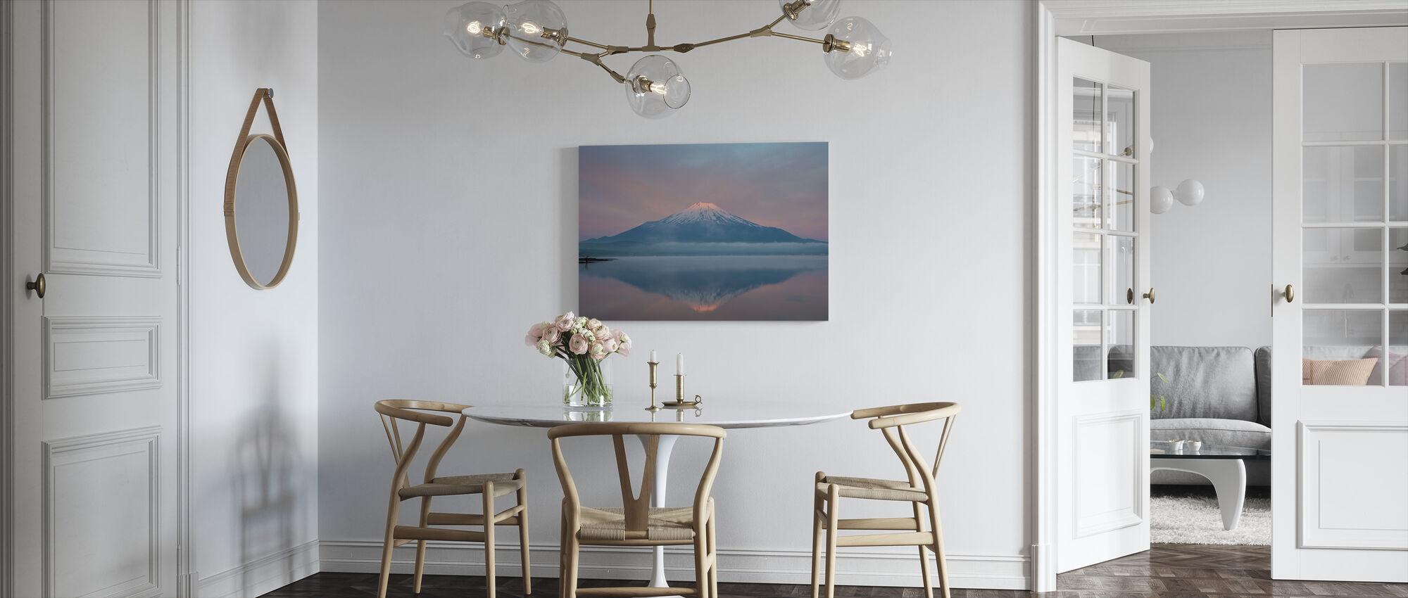 Kleur van zonsopgang - Canvas print - Keuken