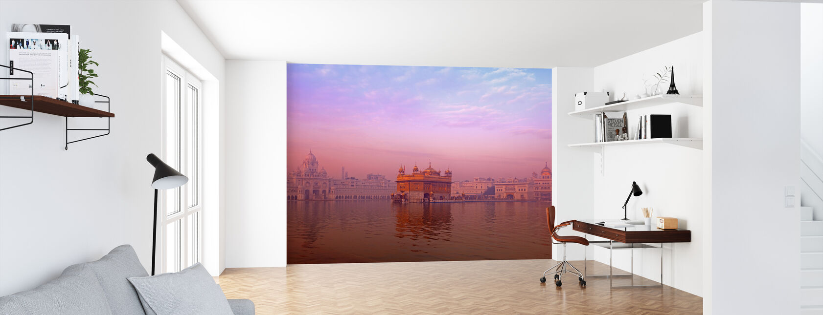 Dawn at The Golden Temple - Wallpaper - Office