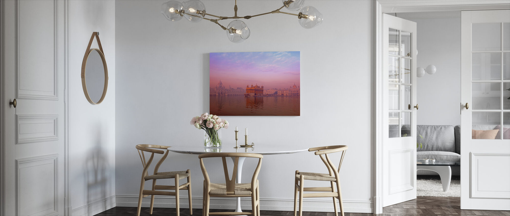 Dawn at The Golden Temple - Canvas print - Kitchen
