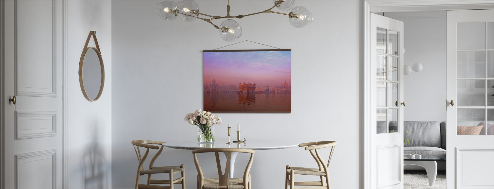 Dawn at The Golden Temple - Poster - Kitchen