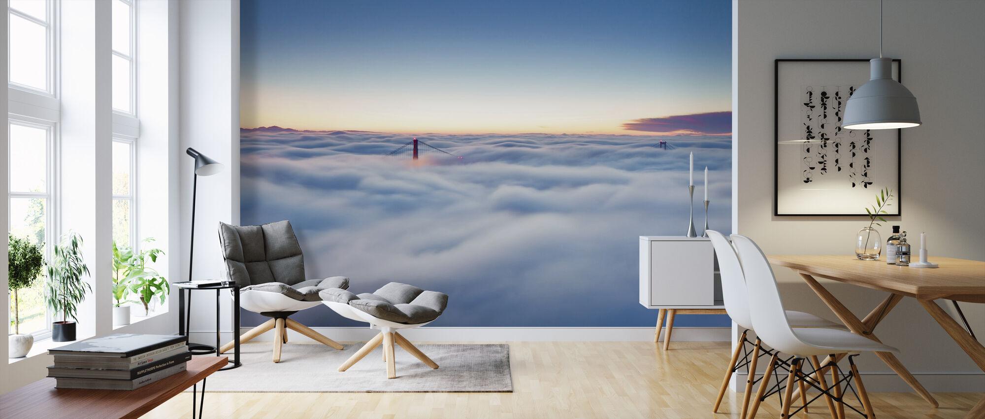 Sumu San Franciscon yllä - Tapetti - Olohuone