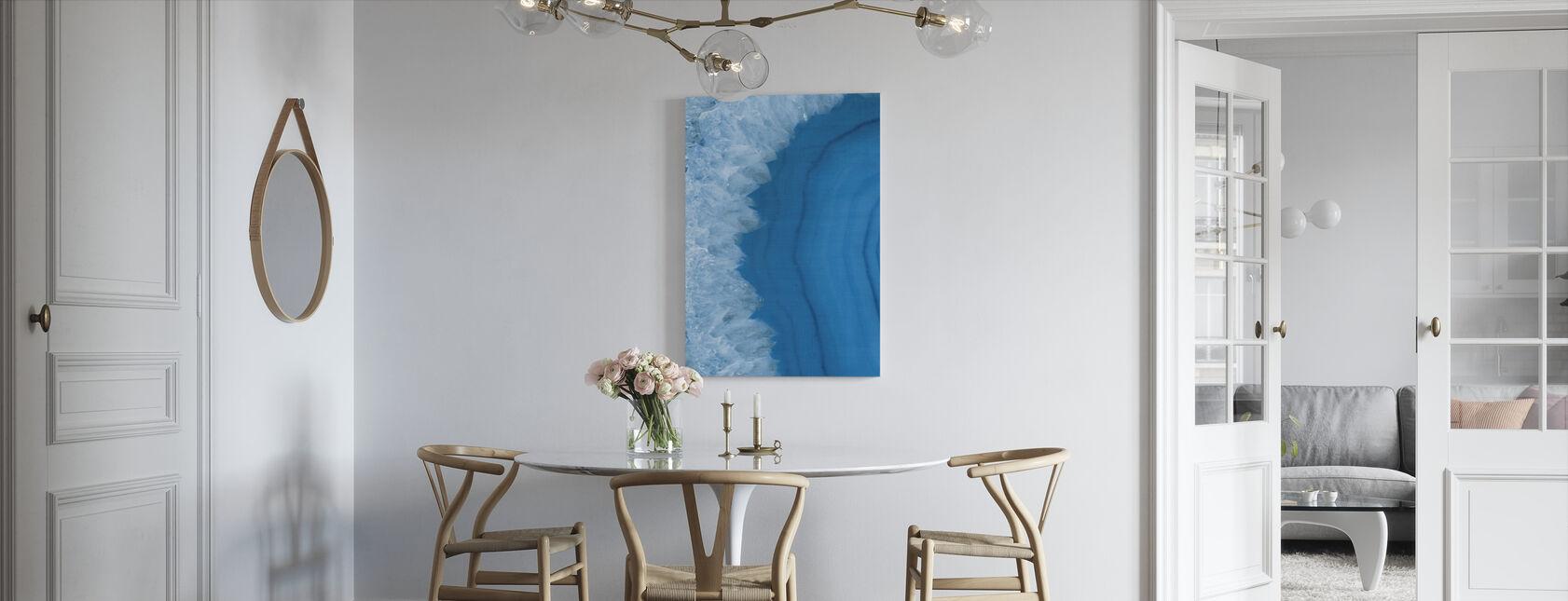 Agate Geode I - Canvas print - Kitchen