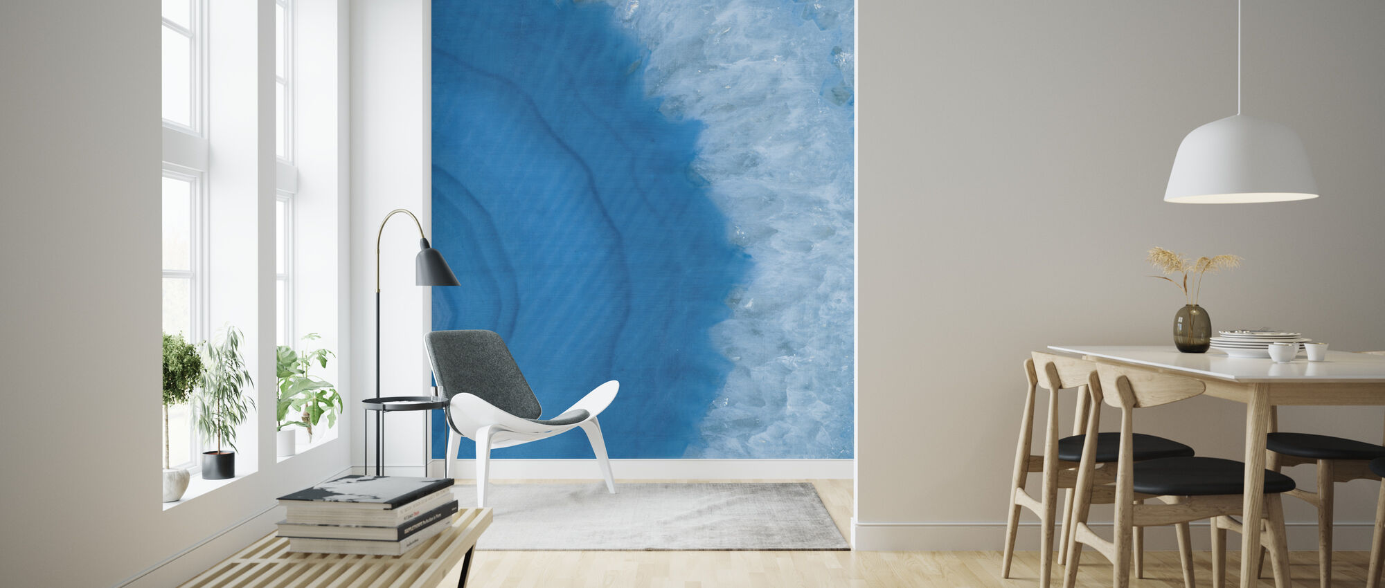 Agate Geode II - Wallpaper - Living Room