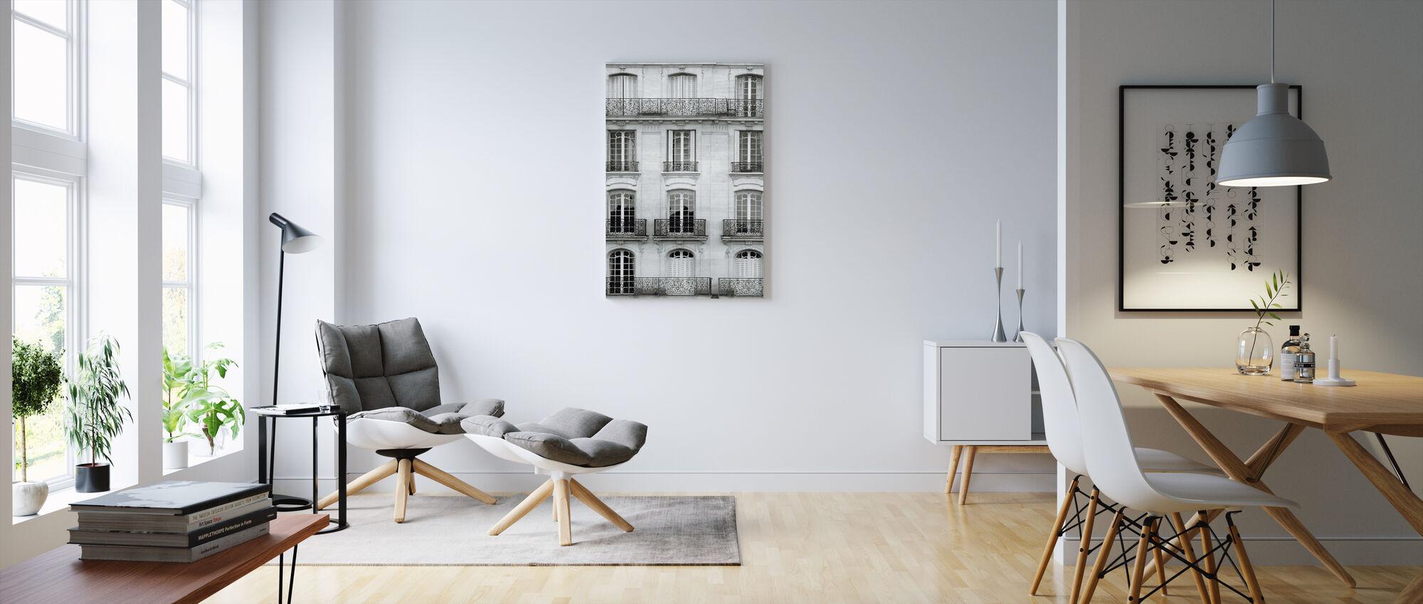 Across the Street I - Canvas print - Living Room