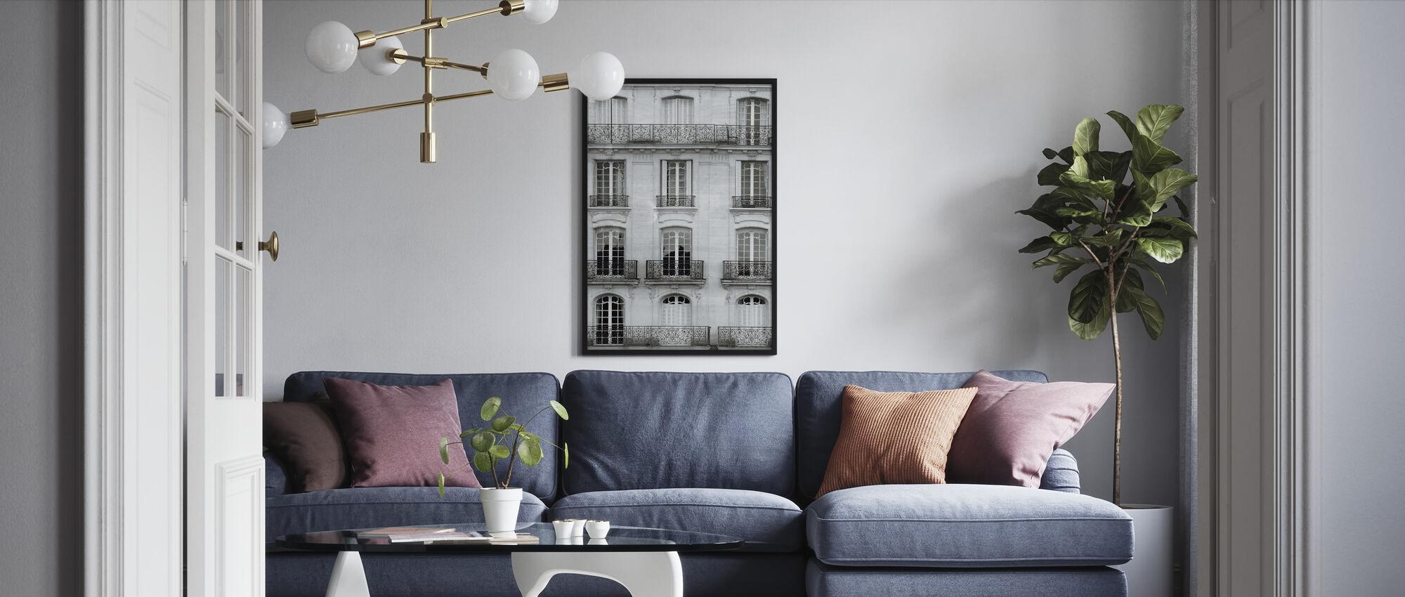Across the Street I - Framed print - Living Room