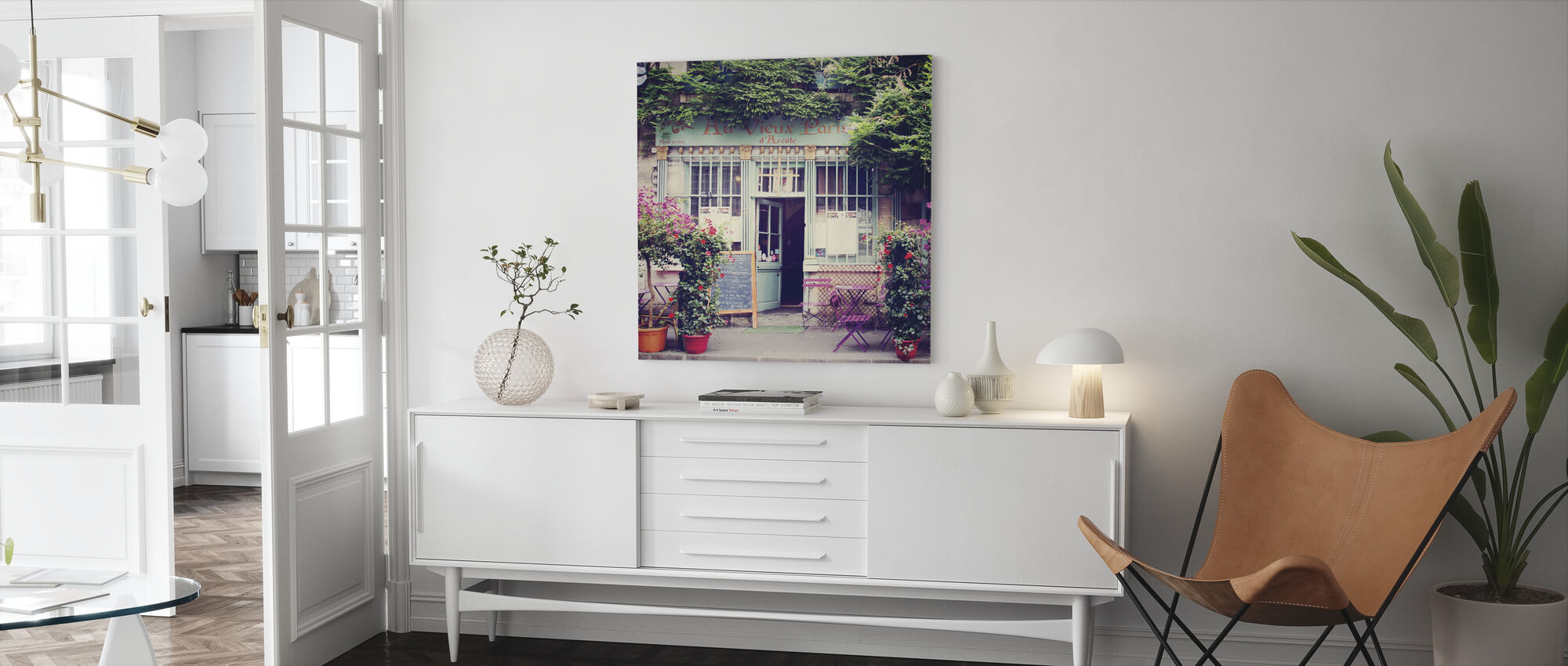 At the Old Paris - Canvas print - Living Room