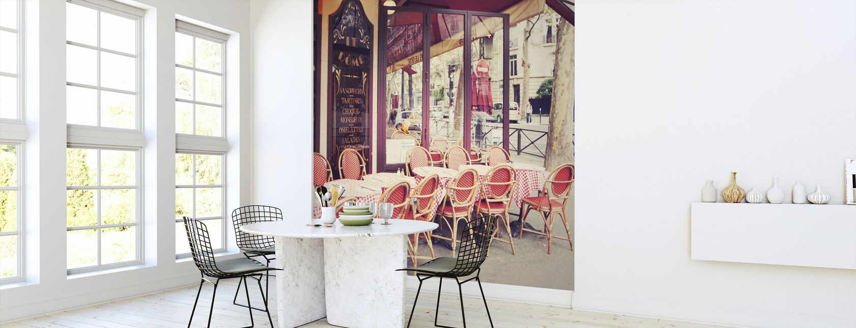 Cafe le Dome - Wallpaper - Kitchen