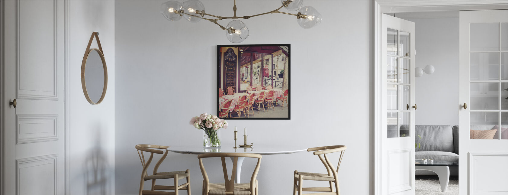 Cafe le Dome - Framed print - Kitchen
