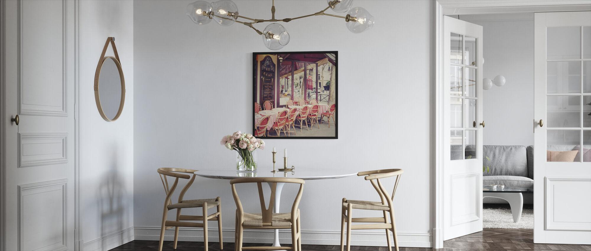 Cafe le Dome - Framed print - Kitchen