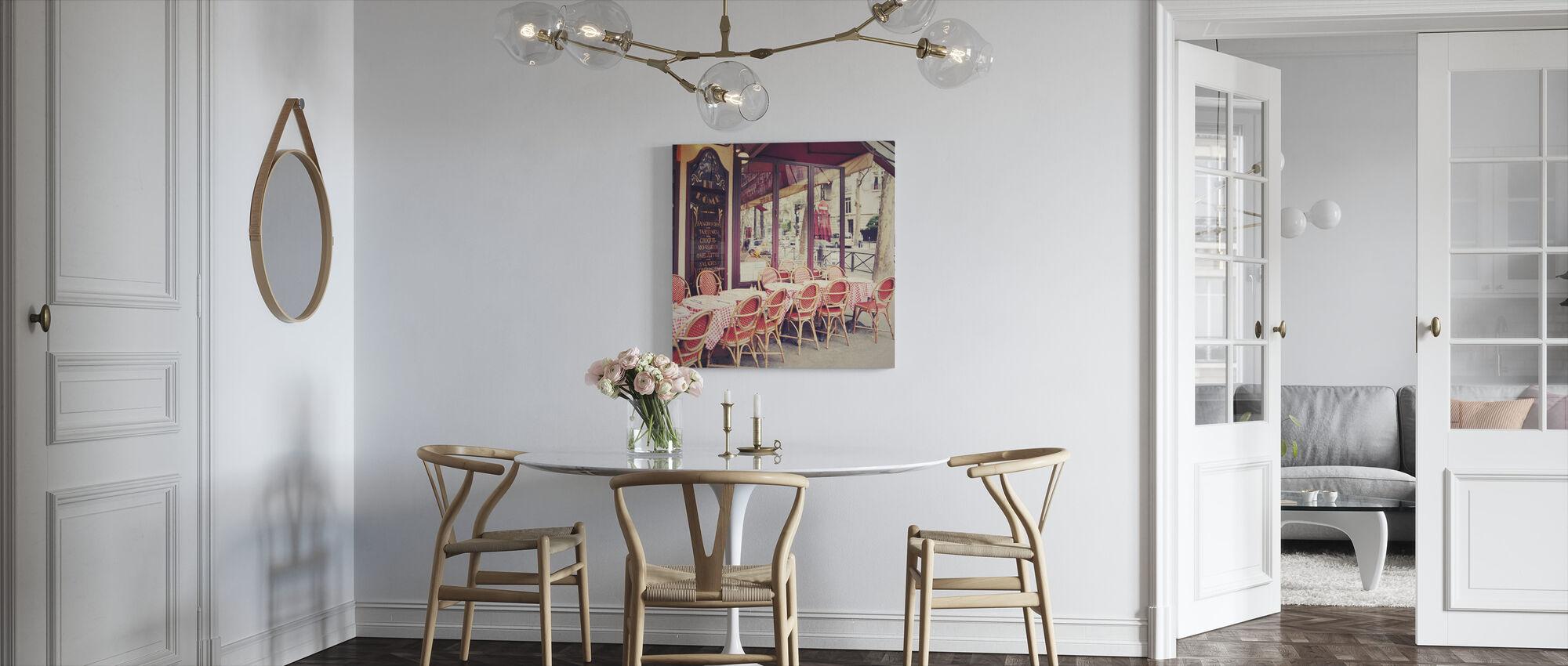Cafe le Dome - Lerretsbilde - Kjøkken