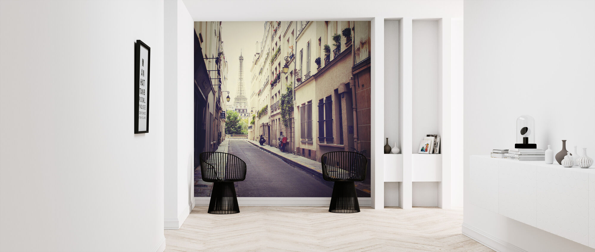 Eiffel Tower - Wallpaper - Hallway