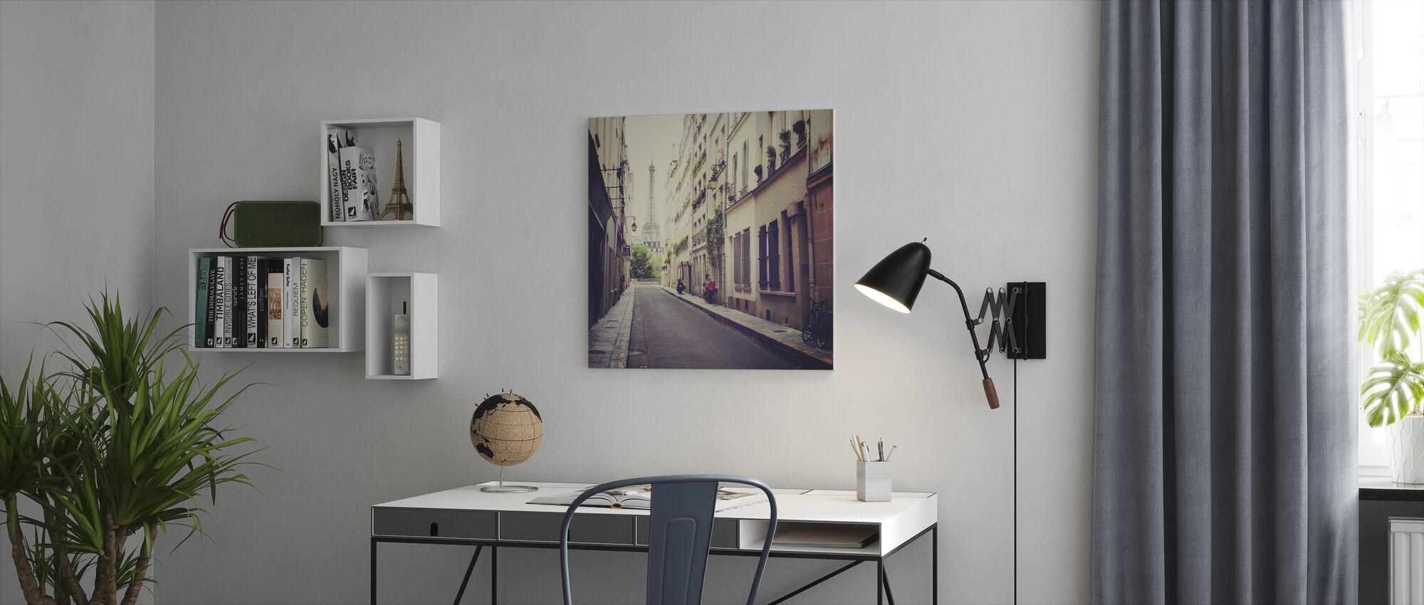 Eiffel Tower - Canvas print - Office